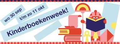 Afbeelding over de kinderboekenweek die van 30 september t/m 11 oktober is